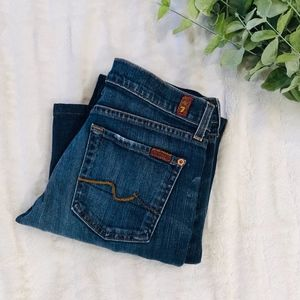LIKE NEW 7 For All Mankind Bootcut Jeans